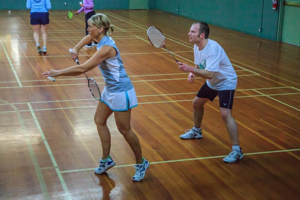 Badminton Doubles Ladder